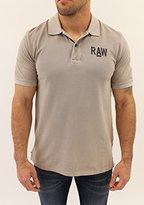 G Star Men's Hav Shortsleeve Polo Shirt In Piqe Overdye