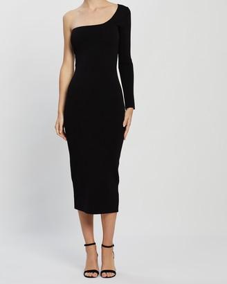 Bec & Bridge Emeline Asymmetric Midi Dress