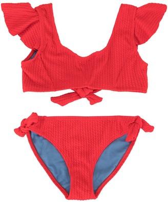 Duskii Girl Yara ruffle bikini set