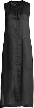 Lafayette 148 New York Byrne Midi Duster Dress