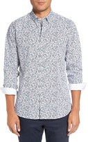 Ted Baker Men's Thornie Trim Fit Print Sport Shirt