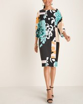 Chico's Chicos Multi-Colored Printed Kimono Dress