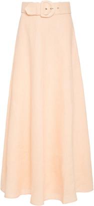 Zimmermann Linen Maxi Skirt
