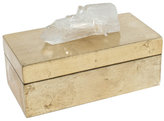 Mapleton Drive Medium Brushed Box with Quartz Crystal
