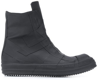 Rick Owens Flat Ankle Boots