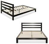 Zinus Modern Studio 10 Inch Platform 2000H Metal Bed Frame / Mattress Foundation / Wooden Slat Support / with Headboard, Full