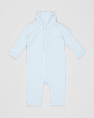 Polo Ralph Lauren ICONIC EXCLUSIVE - French Rib One-Piece Coveralls - Babies