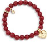 Vera Bradley Love You More Beaded Bracelet