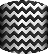Asstd National Brand Black and White Chevron Drum Lamp Shade