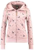 Ragwear Tracksuit top old pink