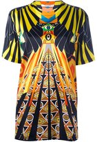 Givenchy 'Optical Wings' printed T-shirt - women - Silk/Spandex/Elastane - 36