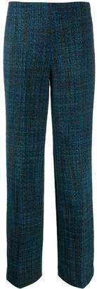 Cavallini Erika tweed straight-leg trousers