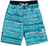 Snapper Rock STRIATED SWIM TRUNKS SIZE 6