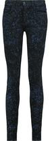 Proenza Schouler Low-Rise Printed Slim-Leg Jeans