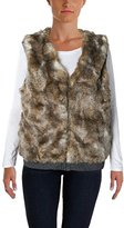 Splendid Women's Ashville Reversible Fur Vest