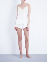 La Perla Maison silk-blend shorts