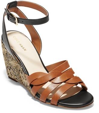 Cole Haan Myra Braided Strap Wedge Sandal