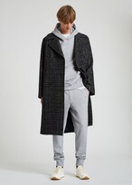 Thumbnail for your product : Paul Smith Men's Wool-Blend Check Double-Breasted Overcoat