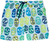 Sunuva Skull-Print Swim Trunks