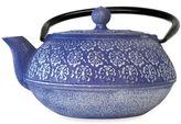 Primula Floral 34 oz. Cast Iron Teapot