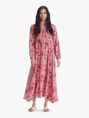 Natalie Martin Fiore Maxi Dress - Bougainvillea Pink