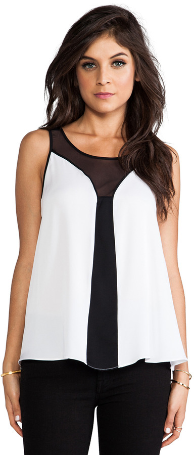 Milly Mesh Fly-Away Top