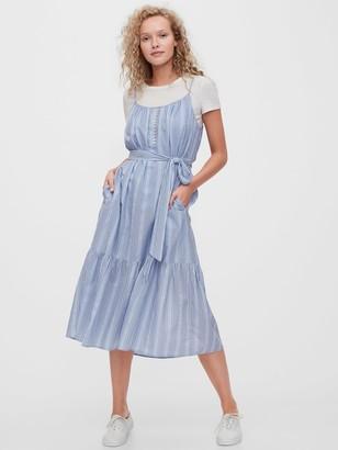 Gap Shirred Cami Dress