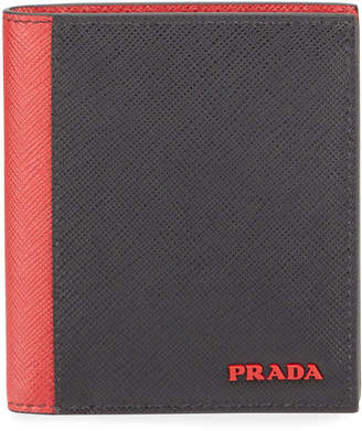 Prada Men's Colorblock Wallet
