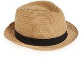 Nordstrom Women's Trilby Hat - Brown