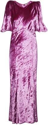 ATTICO The Asymmetric Midi Dress