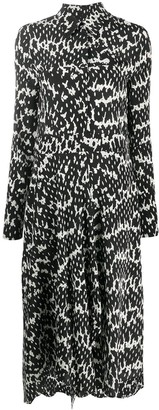 Christian Wijnants Dayita shirt silk dress