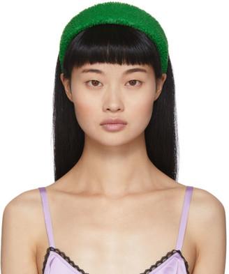 Ashley Williams SSENSE Exclusive Green Didi Alice Headband