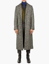 Haider Ackermann Monochrome Dupre Felt Coat