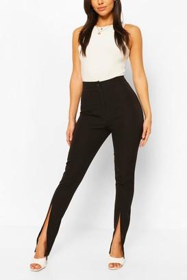 boohoo Split Front Trouser