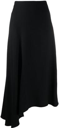 Vince Asymmetric Maxi Skirt
