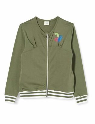 Tuc Tuc Green Opened Without Hood Plush Sweatshirt for Girl Samba Dreams