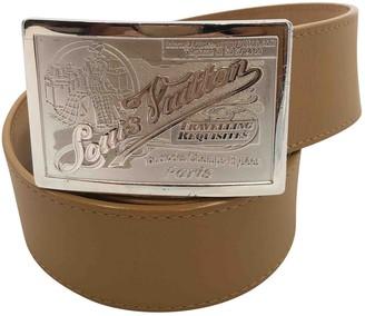 Louis Vuitton Brown Leather Belts