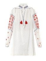 Thierry Colson Guise cotton embroidered top
