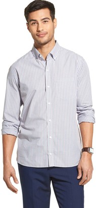 Van Heusen Men's Never Tuck Slim-Fit Button-Down Shirt