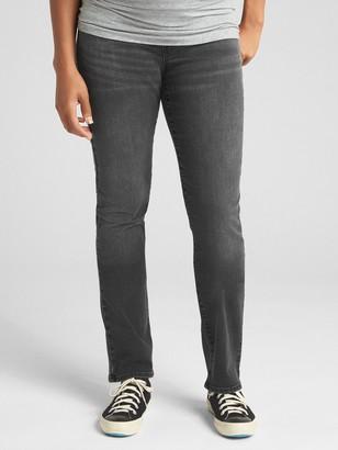 Gap Maternity Full Panel Classic Straight Jeans