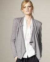 Flecked Linen Jacket