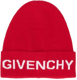Givenchy Kids Logo Knitted Beanie