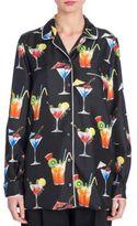 Dolce & Gabbana Silk Martini Top