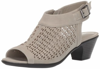 Easy Street Shoes Women's Jill Dress Casual Sandal with Cutouts Heeled