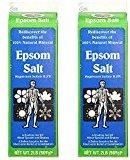 White Mountain Epsom Salt 2 Lb (Pack of 2)