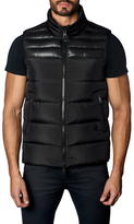 Jared Lang Stand Collared Puffer Vest