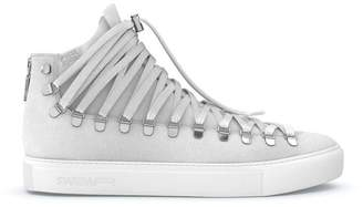 Swear Redchurch laced hi-top sneakers