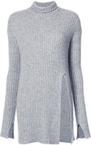 Sally Lapointe long cashmere top