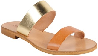 Cocobelle Leather Slide Sandal