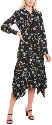 Karl Lagerfeld Paris Handkerchief Shirtdress